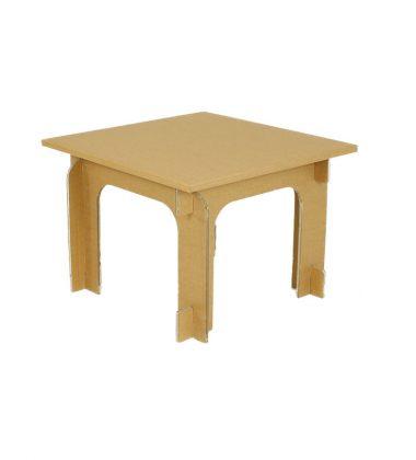 Ekologiczny stolik z tektury - meble z tektury